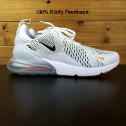 Nike air max 270 just do it white