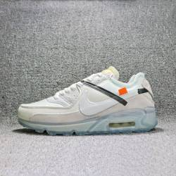 Off-white x nike air max 90 wh...