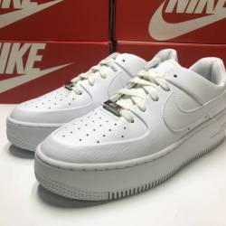 Nike air force 1 sage low whit...
