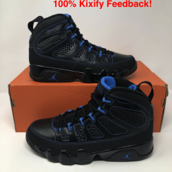 Air jordan 9 photo blue black ...