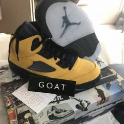 "Jordan 5 ""michigan"""