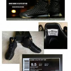 Nike kobe x elite ext qs black...