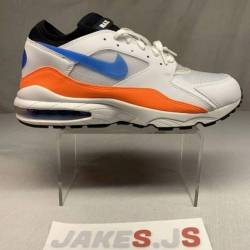 Nike air max '93 white blue ...
