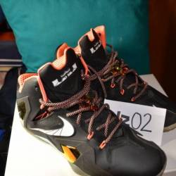 Nike lebron 11 elite black and...
