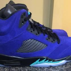 Jordan 5 retro alternate grape...
