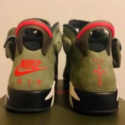 Nike air jordan 6 retro travis...