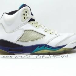Nike air jordan v 5 grape retr...
