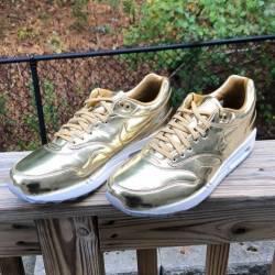 Nike id air max 1 gold