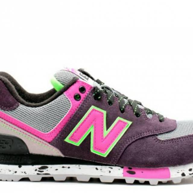 Sale New Balance 574 Purple Green Wmns Wl574opp Brand N...