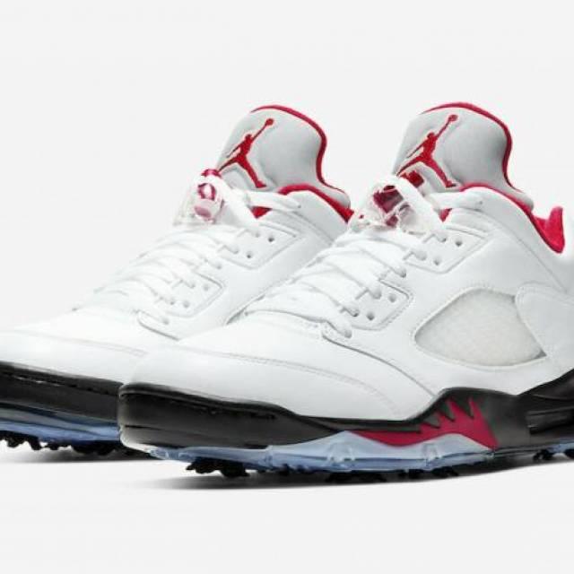 Air Jordan 5 Retro Low Golf Shoes sz 7