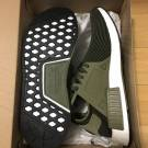 Adidas NMD XR_1 PK Boost Green Olive White Men8&10.5US