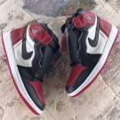 "Nike Air Jordan 1 "" Bred Toe"""