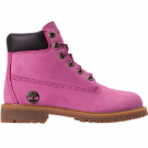 "AUTHENTIC Timberland 6"" Inch Classic Boots Pink Blk 1590A  PNK Youth GS 4Y-7Y sz"