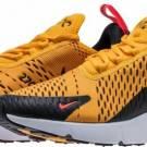 Nike Air Max 270 AH8050-004 Black University Gold Men's Sneakers