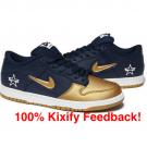 Supreme x Nike SB Dunk Low Metallic Gold