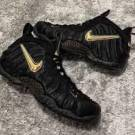 Nike Air Foamposite Pro Black Metallic Gold