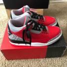 Air Jordan 3 Fire Red Cement